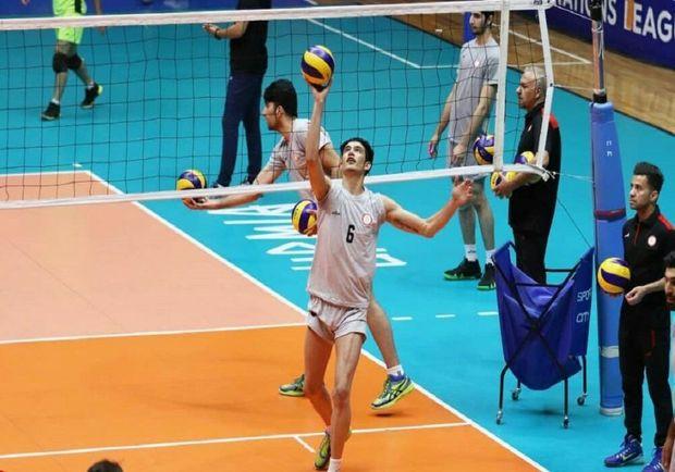 تیم والیبال شهداب یزد از شهرداری گنبد شکست خورد