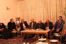 دیدار جمعی از اعضای شورای مرکزی حزب موتلفه با خانواده آیتالله هاشمی(ره)