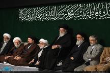 مراسم عزاداری شب شهادت حضرت فاطمه زهرا (س) در حسینیه امام خمینی برگزار شد