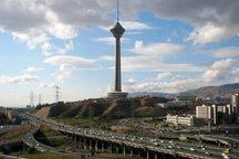 کیفیت هوای تهران با شاخص 61 سالم است