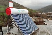 آبگرمکن خورشیدی بین روستاییان ساکن در مناطق جنگلی استان اردبیل توزیع می شود