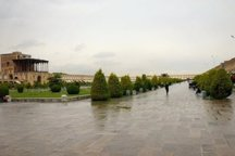 بارش های پراکنده اصفهان را فرا می گیرد