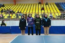 نوجوان مهابادی قهرمان مسابقات تنیس روی میز کشور شد