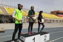 تیم دوومیدانی دختران قزوین در مسابقات قهرمانی کشور صاحب سه نشان شد