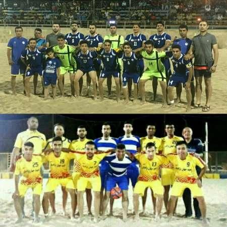 لیگ برتر فوتبال ساحلی  دورخیز ملوان بندرگز برای سه امتیاز دوم
