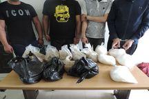 سربازان گمنام امام زمان باندهای توزیع مواد مخدر را در مشهد متلاشی کردند