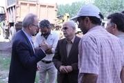 بازدید معاون استاندار از پروژه جمع آوری فاضلاب مسکن مهر رشت