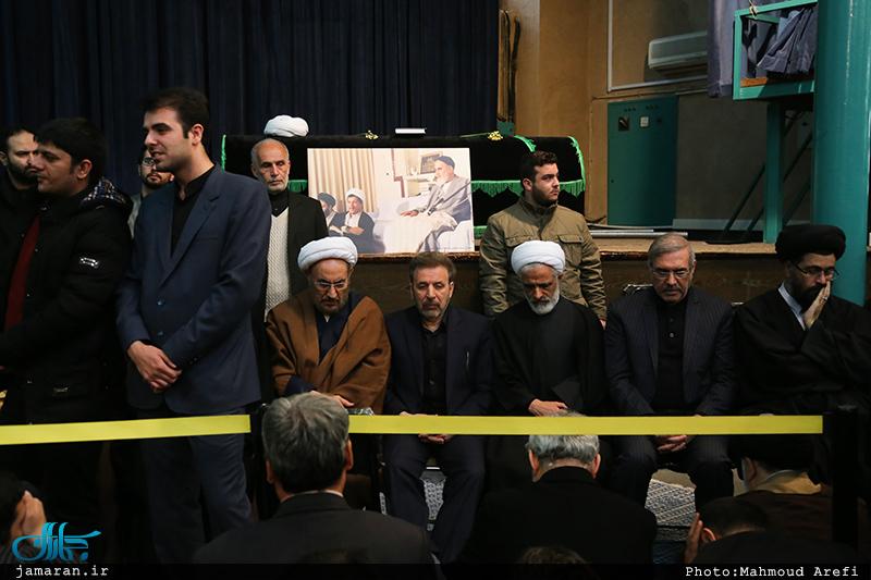 مراسم وداع با پیکر آیت الله هاشمی رفسنجانی(ره) در حسینیه جماران