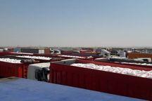 اعتصاب رانندگان عراقی، صادرات کالا از مرز چذابه را مختل کرد