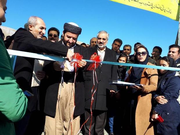 تصفیه خانه فاضلاب حسین آباد سنندج به بهره برداری رسید