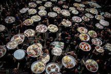اطعام چهار هزار نیازمند ملایری در دهه اول محرم