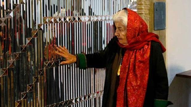 تسلیت مدیرکل هنرهای تجسمی به مناسبت درگذشت بانوفرمانفرمائیان