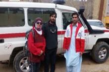 امدادگران خاش 2 کوهنورد کرجی را در ارتفاعات تفتان نجات دادند