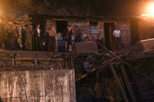 سه نقطه از تونل معدن یورت ریزش کرده بود / 30 نفر کار امدادرسانی را در داخل معدن انجام می دهند