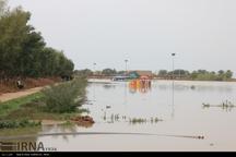 سطح آب کرخه در سوسنگرد تا 1.5 متر کاهش یافت