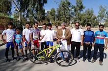 تیم دوچرخه سواری بندر چابهار به رقابت های کشوری اعزام شد