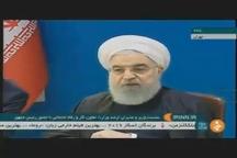 روحانی: کار کردن، امنیت اجتماعی ایجاد می کند