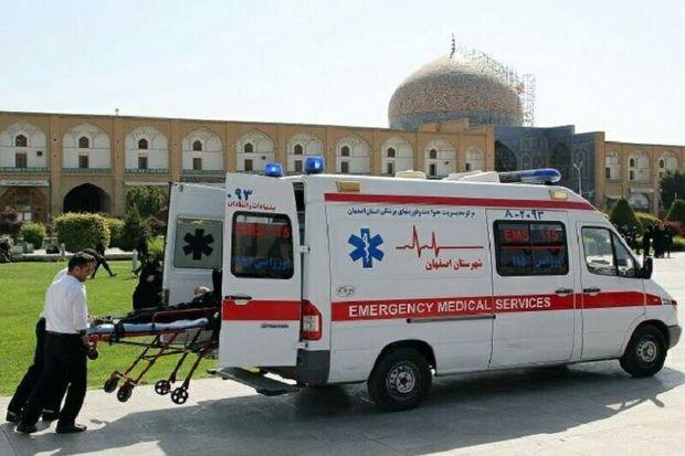 اورژانس ۱۱۵ اصفهان در  تاسوعا و عاشورای حسینی به ۹۹ نفر خدمات ارایه کرد