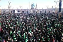 شیرخوارگان حسینی بر مظلومیت علی اصغر گریستند