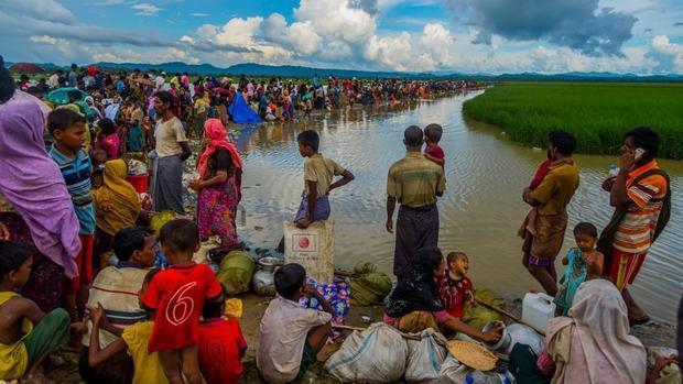 رنج های بی پایان مسلمانان میانمار/ مرگ کودکان آواره در اثر بیماری