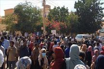 ادامه تظاهرات سودانی ها علیه نظامیان در پایتخت