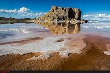 دریاچه ارومیه ۳۱۳ کیلومترمربع افزایش سطح دارد  رهاسازی آب 4 سد استان به دریاچه