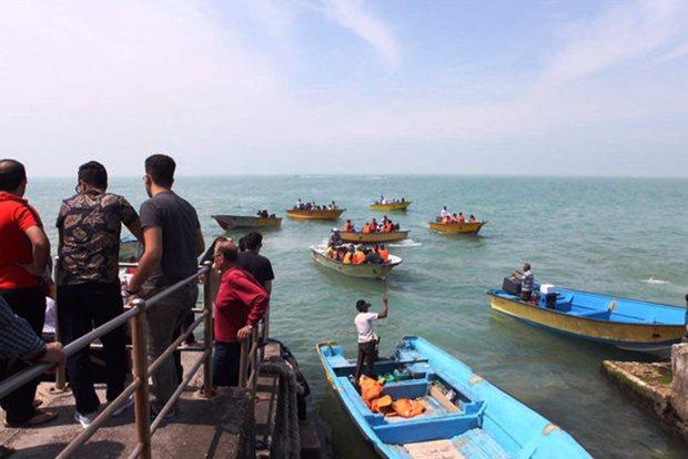 فعالان گردشگری دریایی شرق هرمزگان، آموزش قایقرانی دیدند