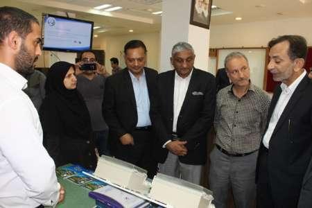 بازدید هیات عالی وزارت علوم پاکستان از مرکز رشد واحدهای فناور  انزلی