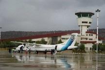 تغییر مسیرهای پروازی فرودگاه یاسوج در حال پیگیری است