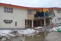 رانش زمین انبار تعاونی روستایی کالپوش را تخریب کرد