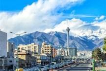 کیفیت هوای تهران با شاخص 60 سالم است