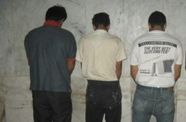 4 شکارچی متخلف در جم دستگیر شدند