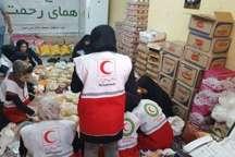 یک هزار بسته غذایی درقالب طرح ملی همای رحمت در مناطق محروم اهواز توزیع شد