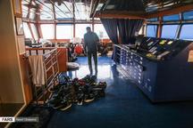 تصویری از خدمه کشتی توقیف شده انگلیسی