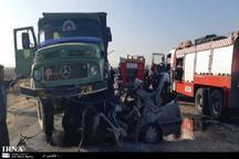 تصادف در نیشابور سه کشته برجای گذاشت