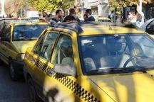 تاکسیرانی با رانندگان متخلف برخورد می کند
