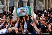 مراسم وداع با پیکر شهید مدافع حرم در حاشیه شهر مشهد برگزار میشود