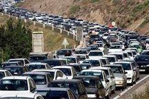 ترافیک سنگین شامگاهی درآزادراه تهران- کرج- قزوین