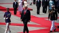 عکس/ ترامپ با امپراطور جدید ژاپن دیدار کرد