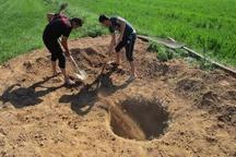 31 حلقه چاه غیرمجاز در قاینات و زیرکوه پلمپ شد