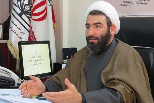 350 کانون فرهنگی و هنری در مساجد قزوین فعالیت می کنند