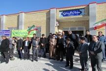 افتتاح مدرسه خیرساز روستای جوقان بزرگ در شهرستان بستان آباد