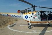 2 مصدوم تصادف رانندگی با بالگرد اورژانس کردستان منتقل شدند