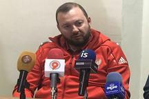 سرمربی تیم فوتسال روسیه: بازی باایران سخت ترین دیدارما در اصفهان است