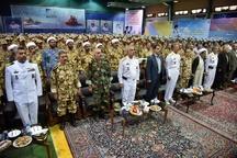 برگزاری اردوی معارف جنگ با حضور دریادار سیاری در بندر امام خمینی