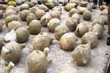 کشف 6528 کیلوگرم انواع مواد مخدر در البرز