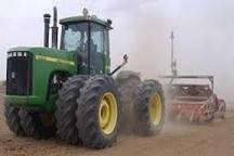 آغاز تسطیح لیزری بیش از 200 هکتار از اراضی کشاورزی شهرستان مُهر