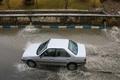 مشکل آبگرفتگی های معابر شهر قزوین در حال رفع است