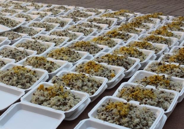 1600 پرس غذا روزانه برای سیل زدگان کرمانشاه توزیع می شود