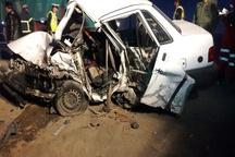 12 کشته و زخمی در تصادف محور خاش- ایرانشهر